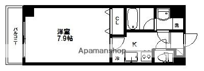 宮城県仙台市青葉区愛子中央6丁目の賃貸マンションの間取り