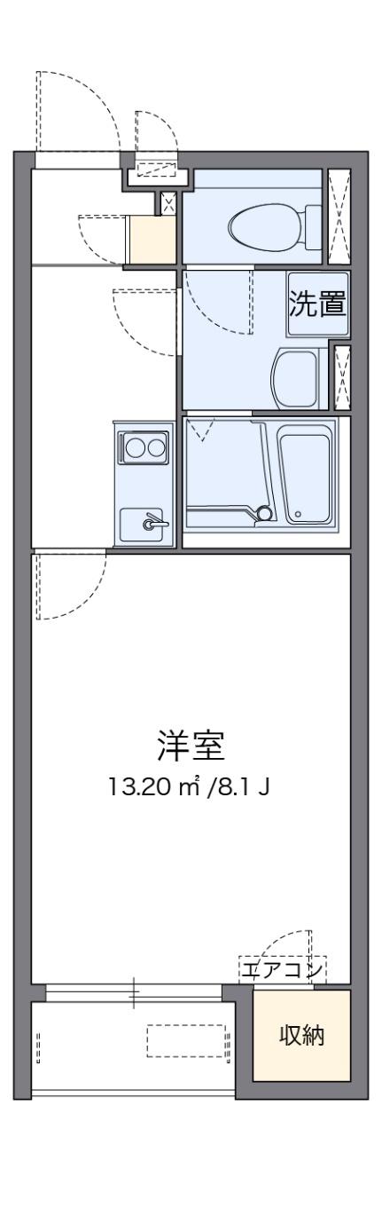 クレイノMIYAMAⅡ[2階]の間取り