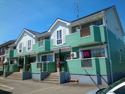 宮城県仙台市太白区鈎取本町2丁目の賃貸アパートの外観