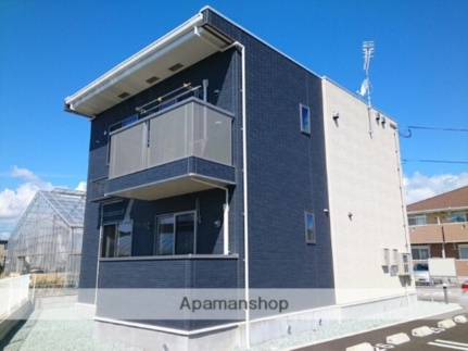 宮城県仙台市太白区四郎丸字地蔵前の賃貸アパートの外観