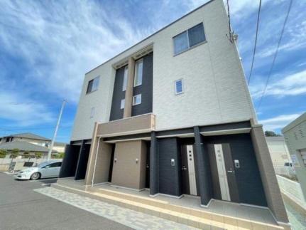 宮城県仙台市太白区四郎丸字吹上の賃貸アパートの外観