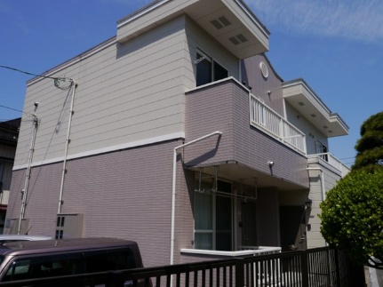 山形県山形市飯田1丁目の賃貸アパートの外観