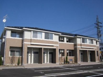 ツインズ桜田B[2階]の外観