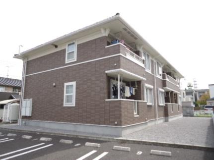茨城県古河市下山町の賃貸アパートの外観