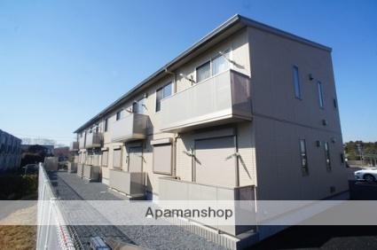 茨城県水戸市酒門町の賃貸アパートの外観