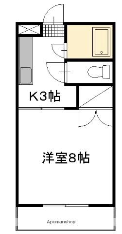 COSMO N&TⅢ[110号室]の間取り