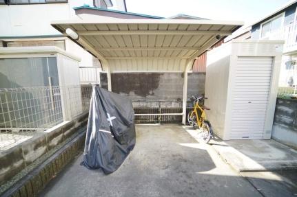 茨城県ひたちなか市大成町の賃貸アパートの外観