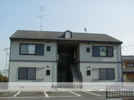 レジデンス太田A[1階]の外観