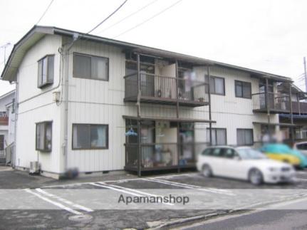 福嶋コーポ[201号室]の外観