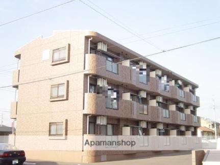 マンションパークハイム[1階]の外観
