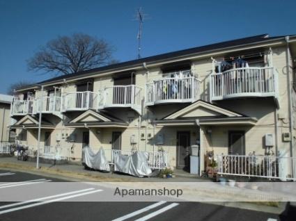 埼玉県越谷市蒲生西町1丁目の賃貸アパートの外観