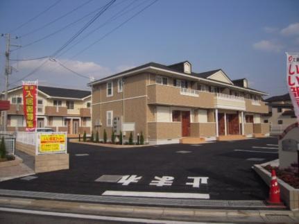 埼玉県上尾市大字上の賃貸アパートの外観