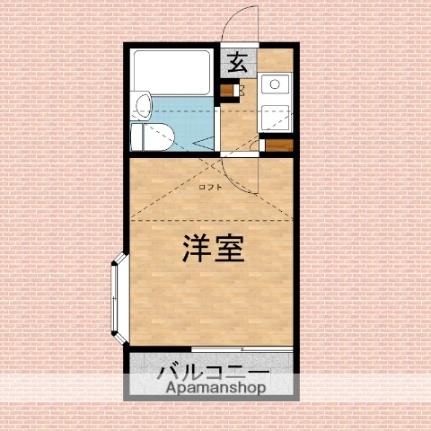 エマーユ60上福岡[201号室]の間取り