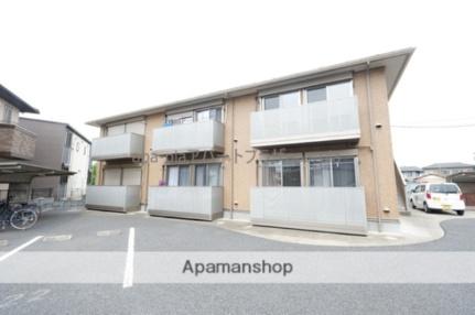 埼玉県川越市大字豊田本の賃貸アパートの外観