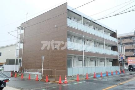 埼玉県坂戸市緑町の賃貸アパートの外観