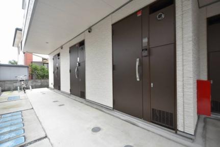 埼玉県白岡市高岩の賃貸マンションの外観