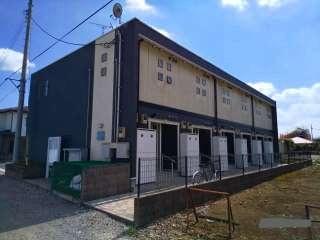 埼玉県飯能市大字双柳の賃貸アパートの外観