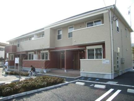 埼玉県飯能市大字笠縫の賃貸アパートの外観