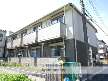 埼玉県飯能市大字岩沢の賃貸アパートの外観