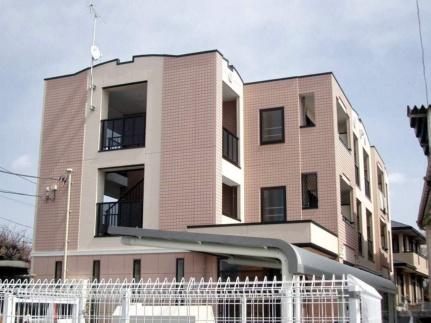 埼玉県入間市扇町屋4丁目の賃貸マンションの外観