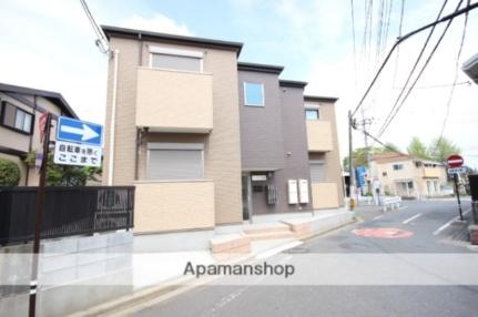 埼玉県川越市久保町の賃貸アパートの外観
