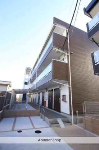 埼玉県川越市仙波町3丁目の賃貸アパートの外観