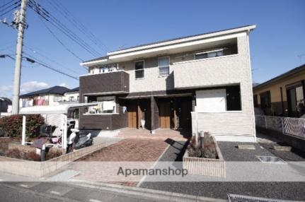 埼玉県入間郡越生町上野東4丁目の賃貸アパートの外観