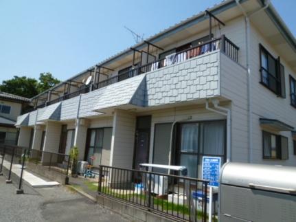 千葉県流山市向小金2丁目の賃貸アパートの外観
