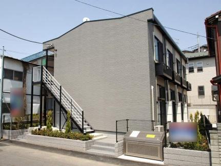 千葉県松戸市日暮7丁目の賃貸アパートの外観