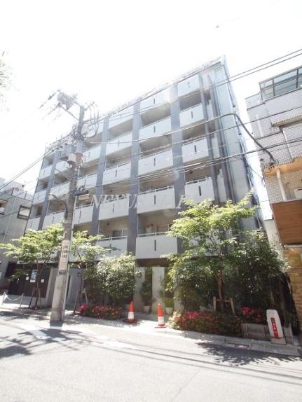東京都新宿区戸塚町1丁目の賃貸マンションの外観