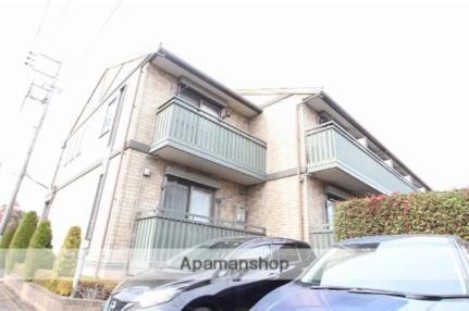 東京都国立市富士見台3丁目の賃貸アパートの外観