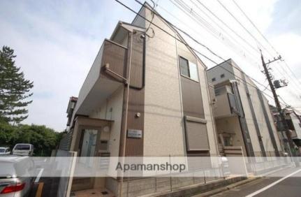 東京都練馬区羽沢3丁目の賃貸アパートの外観