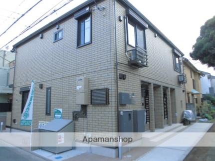 東京都中野区大和町3丁目の賃貸アパートの外観