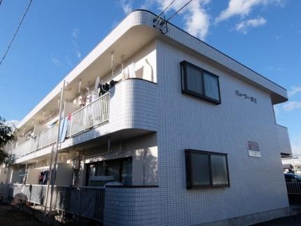 東京都あきる野市渕上の賃貸アパートの外観