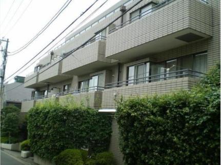京西上目黒ガーデン 1階の外観