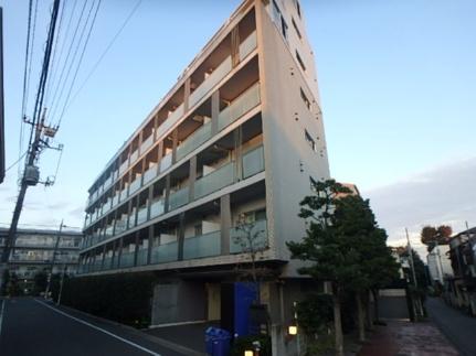 東京都大田区南雪谷2丁目の賃貸マンションの外観