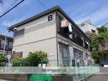深田台ハイツB[203号室]の外観