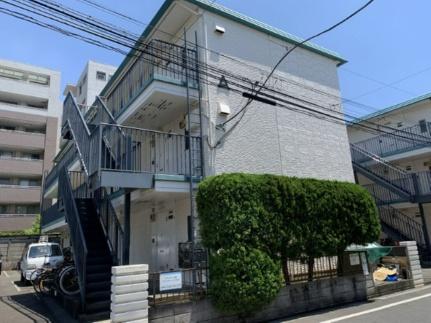 セラミックハイツ鶴見[3階]の外観
