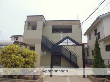 神奈川県茅ヶ崎市今宿の賃貸アパートの外観