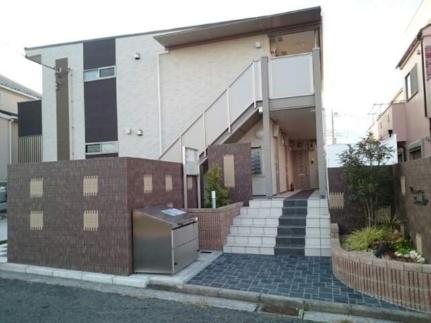 神奈川県横浜市都筑区牛久保西1丁目の賃貸アパートの外観