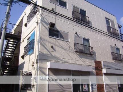 神奈川県川崎市幸区小向西町3の賃貸マンションの外観
