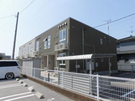 新潟県新潟市北区嘉山5丁目の賃貸アパートの外観