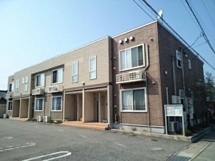 富山県富山市下奥井1丁目の賃貸アパートの外観