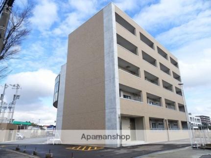 富山県富山市新根塚町1丁目の賃貸マンションの外観