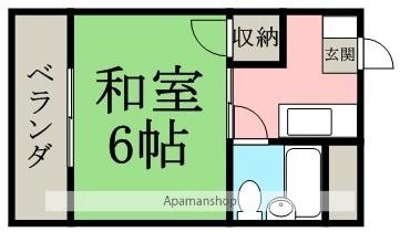 エレガント春山(森川不動産)[405号室]の間取り