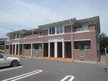 長野県長野市松代町西条の賃貸アパートの外観
