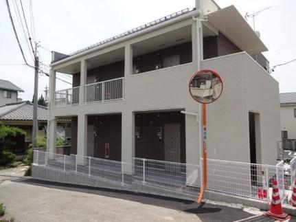 長野県松本市蟻ケ崎3丁目の賃貸アパートの外観