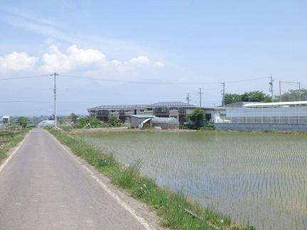 長野県佐久市三塚の賃貸アパートの外観
