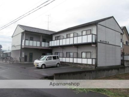 カレッジハウスA[1階]の外観