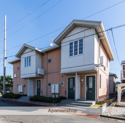 静岡県焼津市惣右衛門の賃貸アパートの外観
